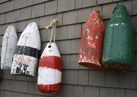 Pesca buoys  Archivio Fotografico - 5565769