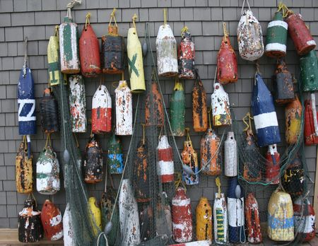 Display of Buoys Imagens