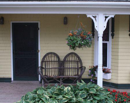 Front Porch Reklamní fotografie