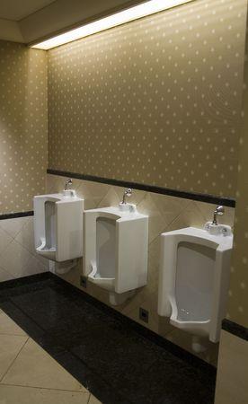 Three Urinals