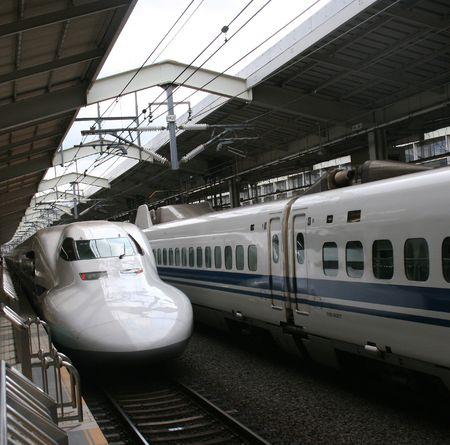 Bullet Train Banque d'images - 5761483