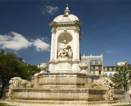 Fountain of the Four Bishops Banque d'images