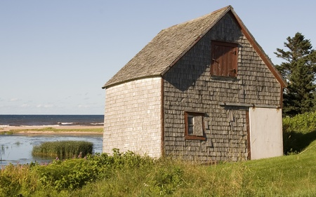 Old Wooden Barn