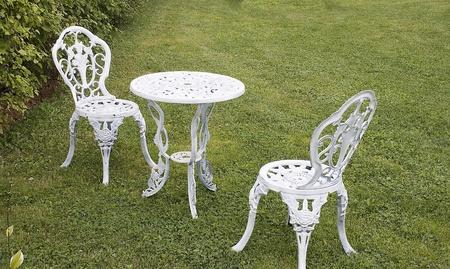 furniture: Lawn Furniture Stock Photo