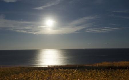 Moon on the Ocean photo