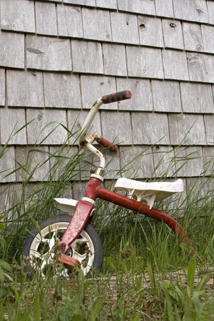 Discarded Tricycle