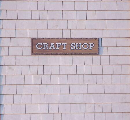 Craft Shop Sign