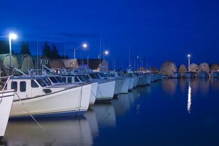 Port de pêche Banque d'images - 12031515