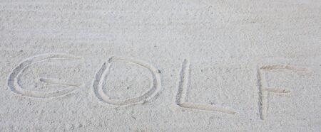 Sand Trap Stock Photo