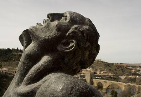 Statue in toledo spain Stock Photo - 13175578