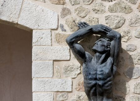 Statue in Spain photo