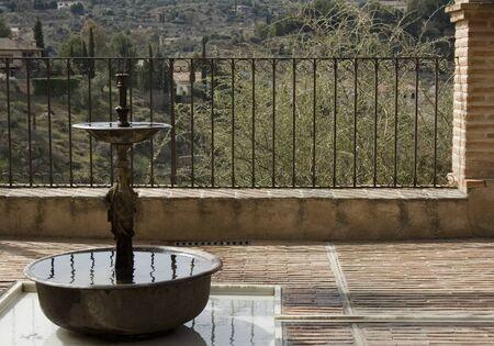 Fountain on a Balcony photo