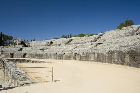 Roman amphitheatre photo