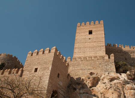 alcazaba: alcazaba in almeria