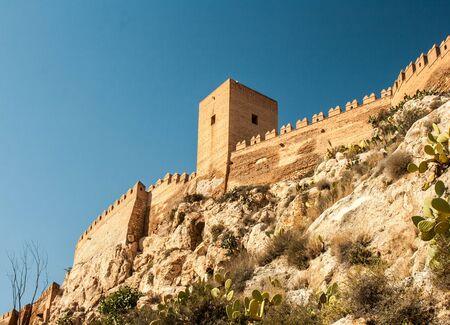alcazaba in almeria Stock Photo - 15837393