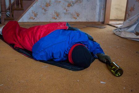 wino: Homeless person