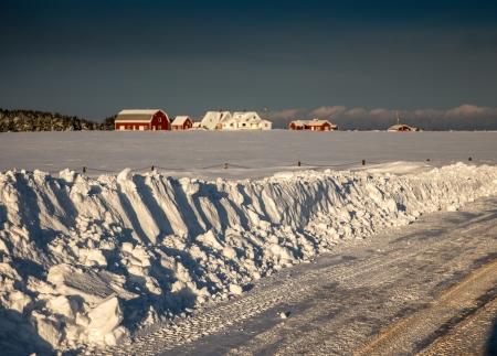 snowbank: snowbank Stock Photo