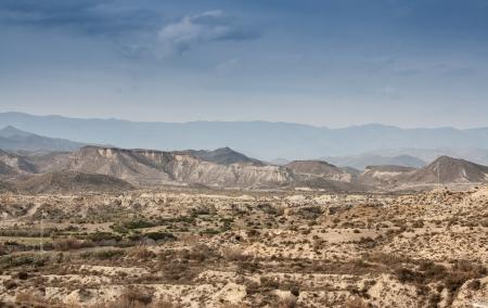 woestijn almeria Stockfoto