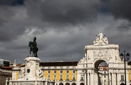 square: Commerce Square in Lisbon
