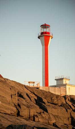 scotia: Nova Scotia Lighthouse Stock Photo