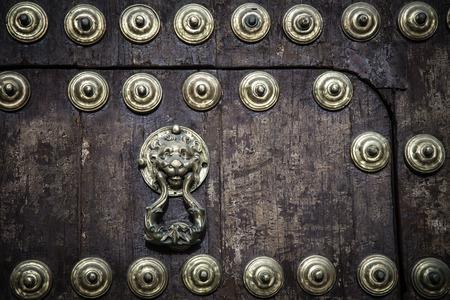 doorknocker: lion doorknocker