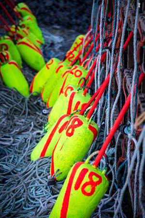 buoys: Lobster Buoys
