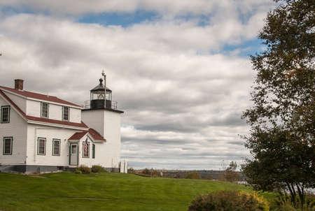 maine: lighthouse maine Stock Photo