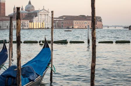 lagoon: Gondola on the lagoon