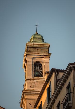 bell tower venice Stock Photo