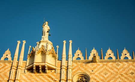 san marco: statue venice san marco