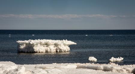 atlantic: iceberg on the atlantic ocean