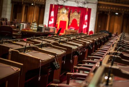 commons: senate chamber canada Editorial