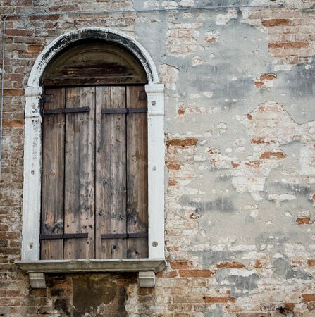 shutters: wooden shutters