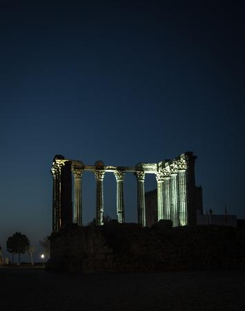 diana: temple of diana evora