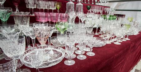 material de vidrio: cristaler�a san telmo mercado
