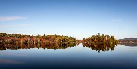 maine: autumn in maine Stock Photo