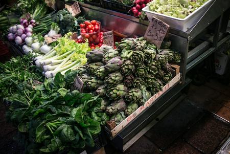 bologna: vegetable market bologna