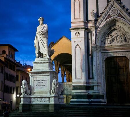 dante alighieri: Statue of Dante Alighieri