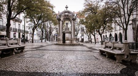 Park in Lisbon Stock fotó