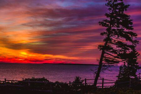 atlantic: sunrise over the atlantic ocean