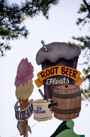 root beer sign