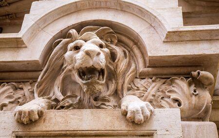 lion statue lisbon