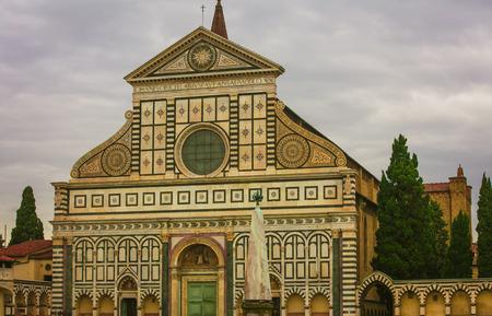 santa maria: Basilica of Santa Maria Novella Stock Photo