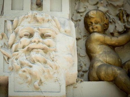 수염 동상 부에노스 아이레스