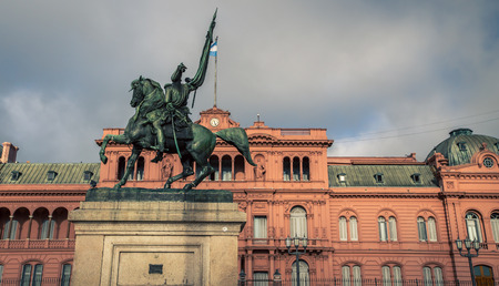 manuel: General Manuel Belgrano statue Stock Photo