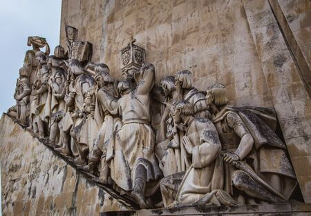 Monument to the Discoveries Banco de Imagens