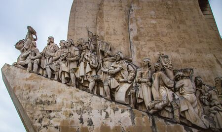discoveries: Monument to the Discoveries Stock Photo