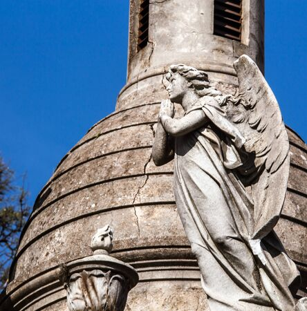 angel cemetery: angel cemetery Buenos Aires