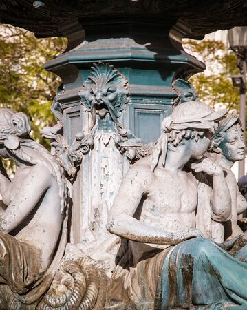 europeans: Rossio Square fountain lisbon