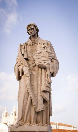 statue of Saint Vincent Stock fotó